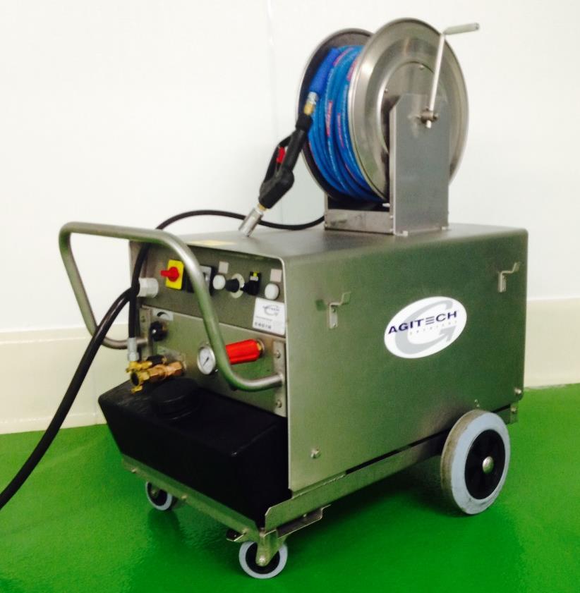 Nettoyeur haute pression à eau chaude électrique